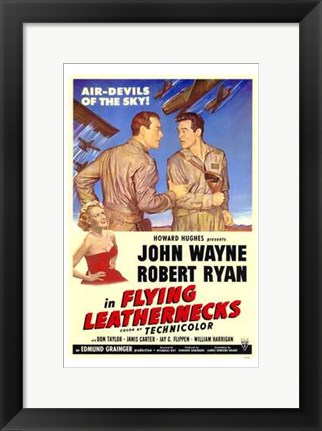 Framed Flying Leathernecks Print