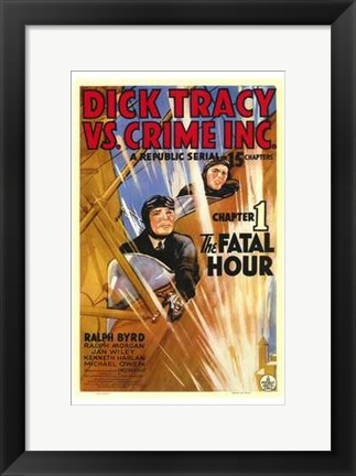 Framed Dick Tracy Vs Crime Inc Chapter 1 Print