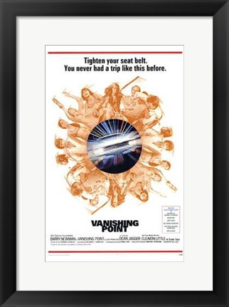 Framed Vanishing Point Print