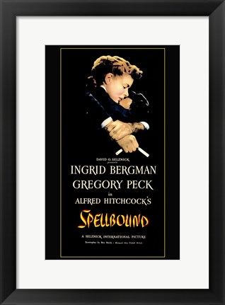 Framed Spellbound Black Print