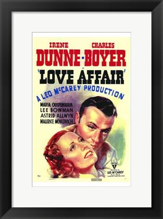 Framed Love Affair Print