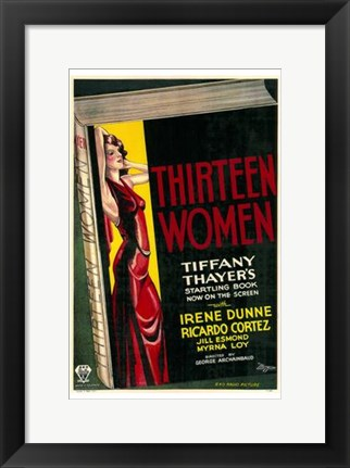 Framed Thirteen Women Print