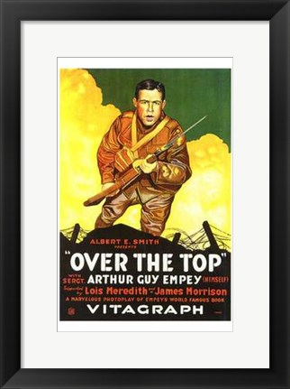 Framed Over the Top - Vitagraph Print