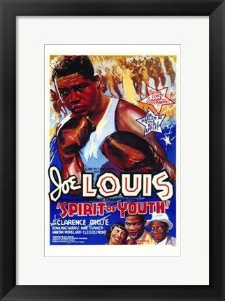 Framed Spirit of Youth Print