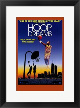 Framed Hoop Dreams Print