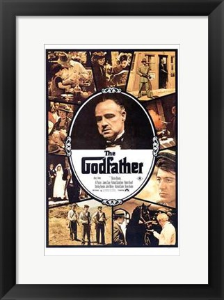 Framed Godfather Scenes Print
