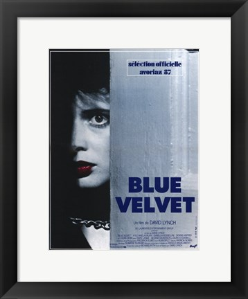 Framed Blue Velvet David Lynch Print