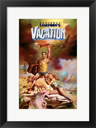 Framed National Lampoon's Vacation Print