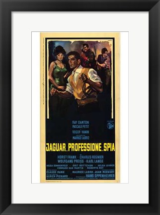 Framed Code Name: Jaguar Print