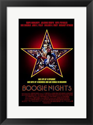 Framed Boogie Nights Print