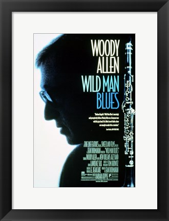 Framed Wild Man Blues Print