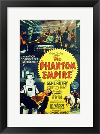 Framed Phantom Empire Robot Print