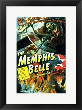 Framed Memphis Belle: a Story of a Flying Fortr Print