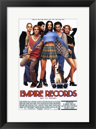 Framed Empire Records Print