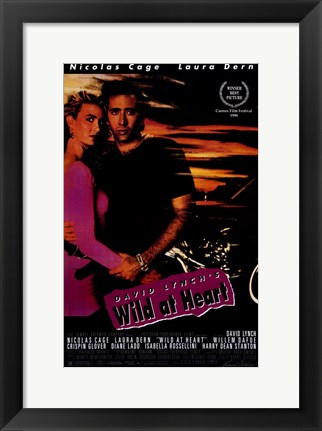 Framed Wild At Heart Print