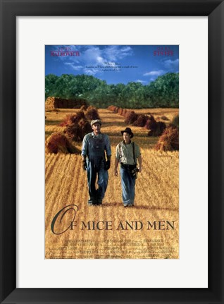 Framed of Mice and Men Print