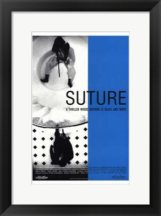 Framed Suture Print