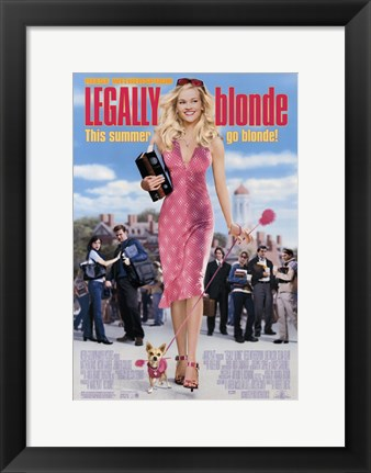 Framed Legally Blonde Print