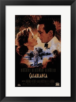 Framed Casablanca - Intimate Print