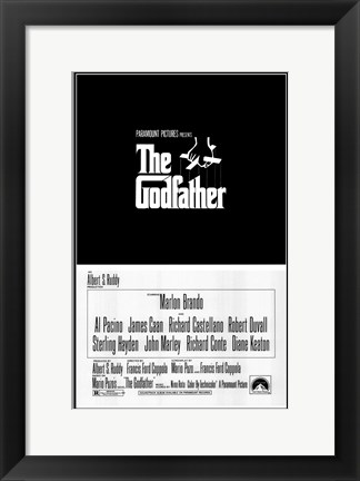 Framed Godfather Logo Print