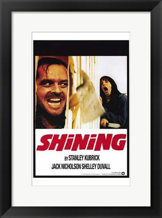 Framed Shining Print