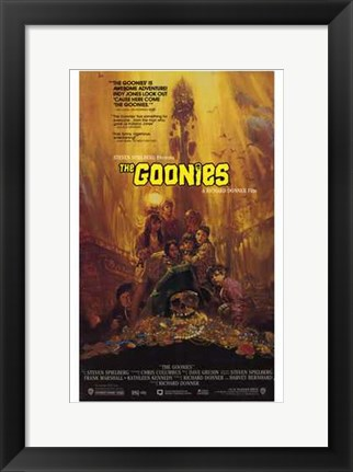 Framed Goonies - Scared Print