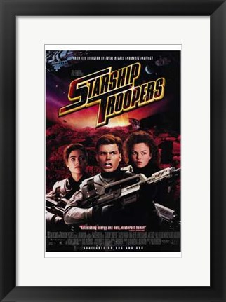Framed Starship Troopers Print