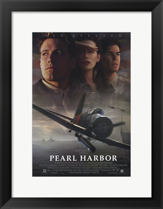 Framed Pearl Harbor - Fighter Jet Print