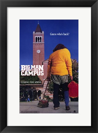 Framed Big Man on Campus Print