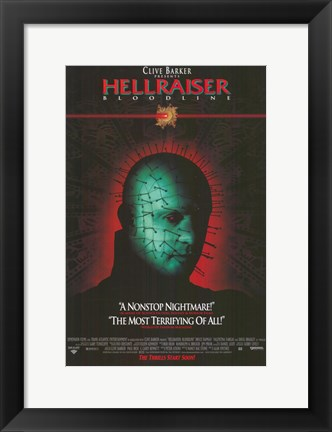 Framed Hellraiser 4: Bloodline Print