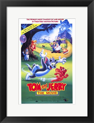 Framed Tom and Jerry - The Movie Print