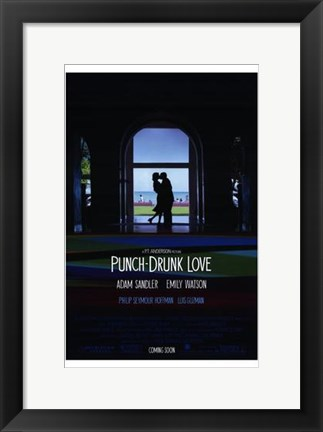 Framed Punch-Drunk Love Print