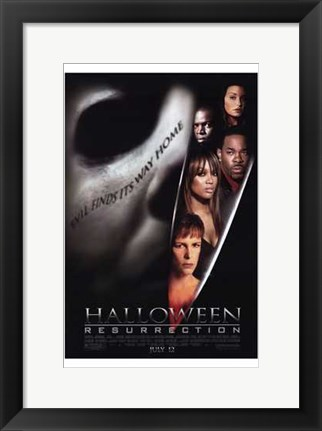 Framed Halloween: Resurrection Print