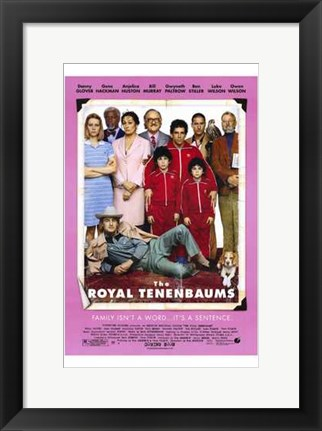 Framed Royal Tenenbaums Print