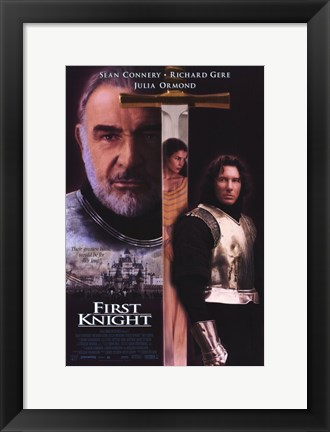 Framed First Knight Print