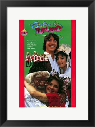 Framed Babes in Toyland - characters Print