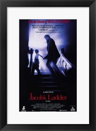 Framed Jacobs Ladder Print