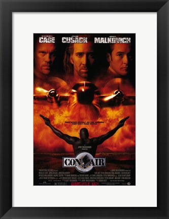 Framed Con Air By Jerry Bruckheimer Print