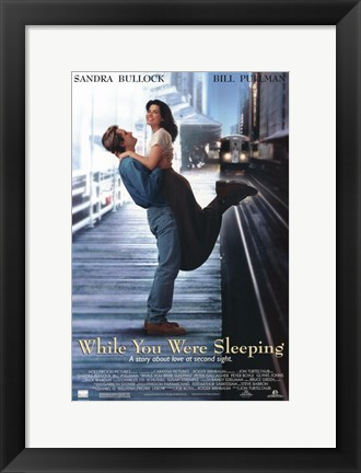 Framed While You Were Sleeping Print