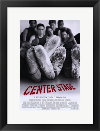 Framed Center Stage Print