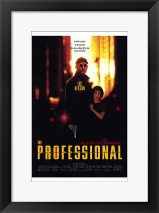 Framed Professional Luc Besson Print