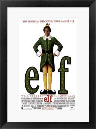 Framed Elf Print