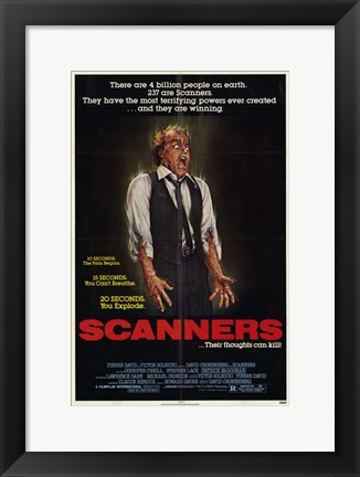 Framed Scanners Print