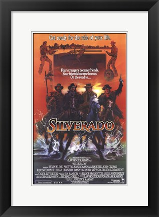 Framed Silverado - get ready for the ride of your life Print