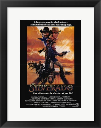 Framed Silverado - Ride with them to the adventure of your life Print