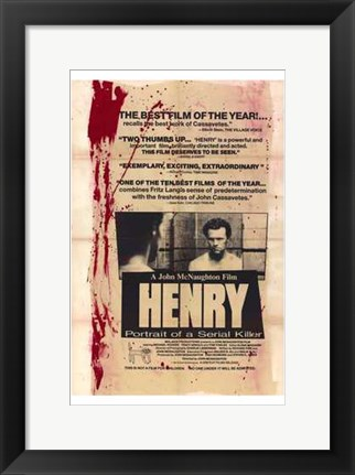 Framed Henry: Portrait of a Serial Killer Print