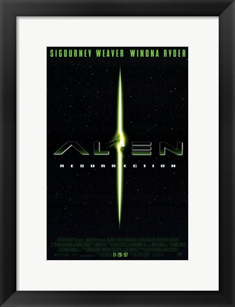Framed Alien Resurrection Print