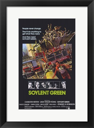 Framed Soylent Green Print