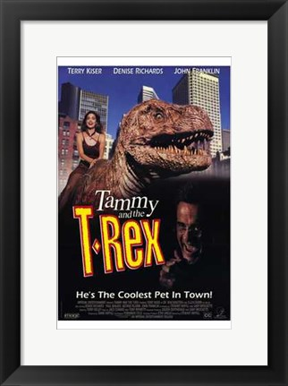 Framed Tammy and the T-Rex Print
