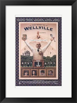 Framed Road to Wellville Print